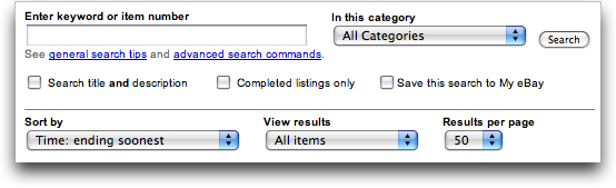 How Can I Add An Ebay Search Box That Searches Titles And Descriptions Ask Dave Taylor