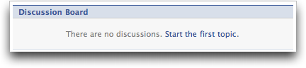 Facebook Groups: Start a Discussion :: Facebook Help