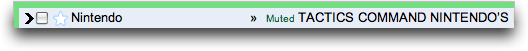 Google's Gmail: MUTE feature