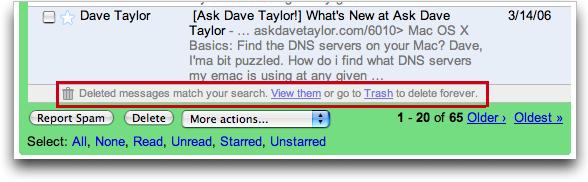 Google Gmail: Search: Mac OS X: Results
