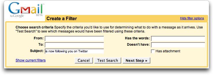 gmail twitter filter 1