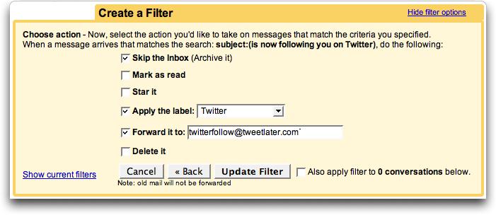gmail twitter filter 2