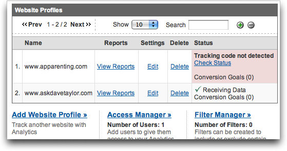 how to add my site to google analytics