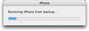 iphone 2 restoring backup 2