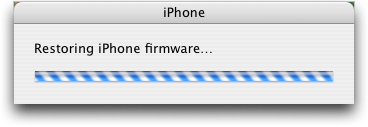 iphone 2.0 restoring firmware