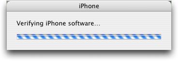 iphone 2.0 verifying
