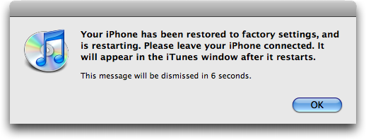 how to cancel iphone restore in progress