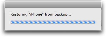 iphone restore 8