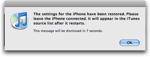 iphone restore 9