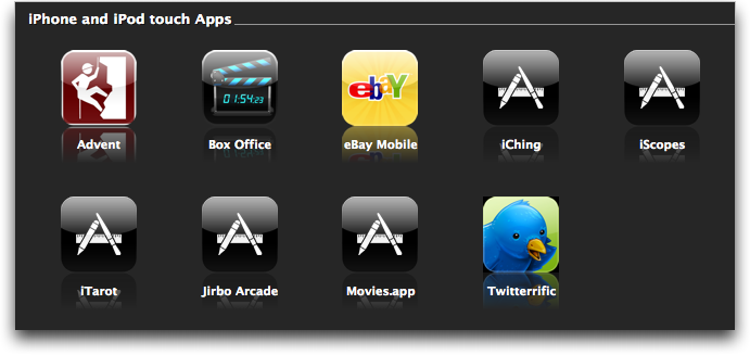 itunes apps downloading