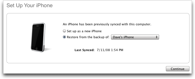 at t set up new iphone backup restore as a new iphone apple community 16606