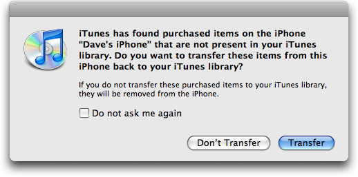 How Do I Transfer Purchases From My Iphone To Itunes