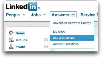 LinkedIn: Ask A Question