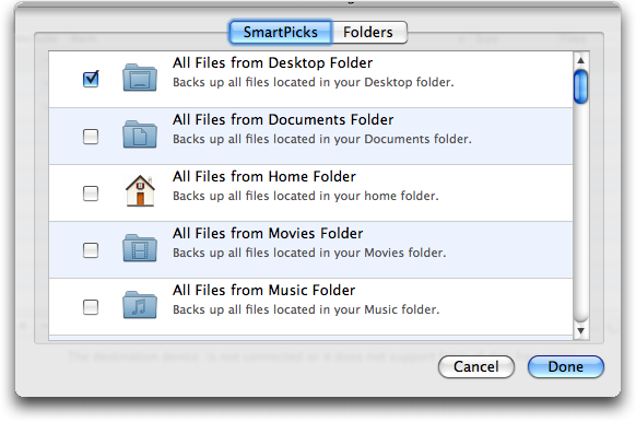 how to add a folder to a backup drive