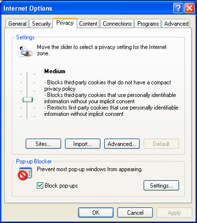 how to delete pop ups from my computer