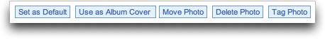 MySpace Photo Options
