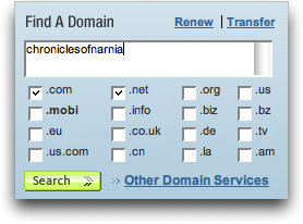 how to find if domain name is taken