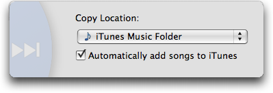 Mac iTunes Senuti: Copy Music to iTunes Music Folder