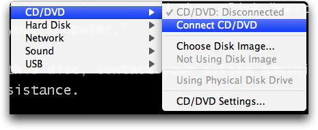 how to get vmware fusion to work