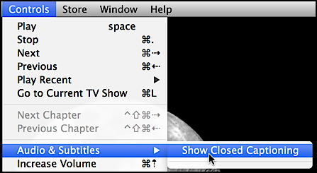 Turn on Closed Captions on iTunes TV/Movies? - Ask Dave Taylor