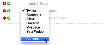 change default fields in mac contacts address book ask dave taylor