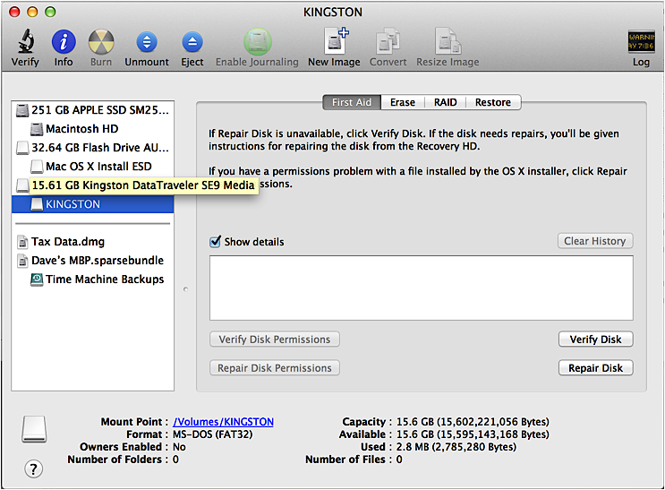 File too big error copying to USB flash drive on my Mac? - Ask Dave Taylor