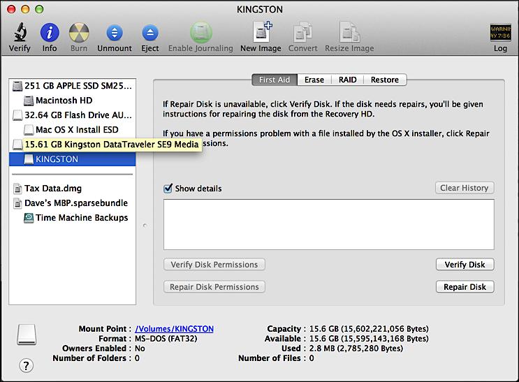 File Too Big Error Copying To Usb Flash Drive On My Mac