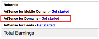 google adsense for domains
