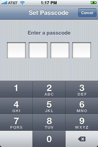 apple iphone enter passcode 1