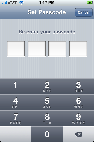 apple iphone enter passcode 2