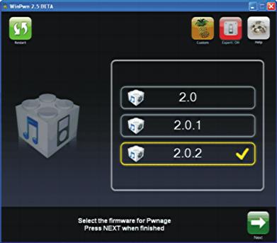 Apple iPhone unlock/jailbreak WinXP winpwn