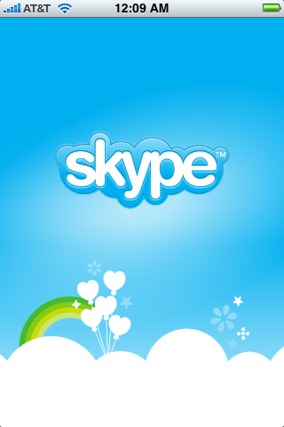 apple iphone skype app 2