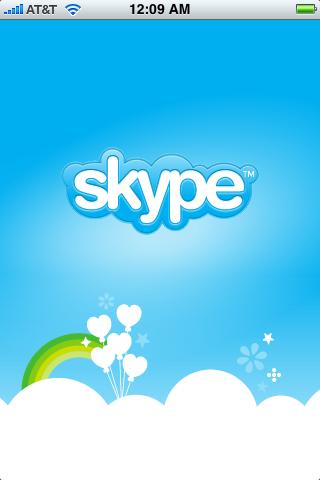 apple iphone skype app 2