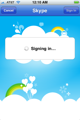 apple iphone skype app 7