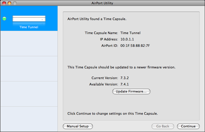 How do I upgrade my Apple Time Capsule firmware? - Ask Dave