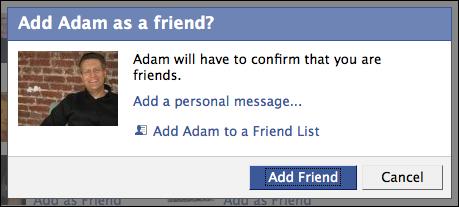 facebook add as friend