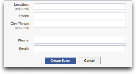 facebook create event info 3