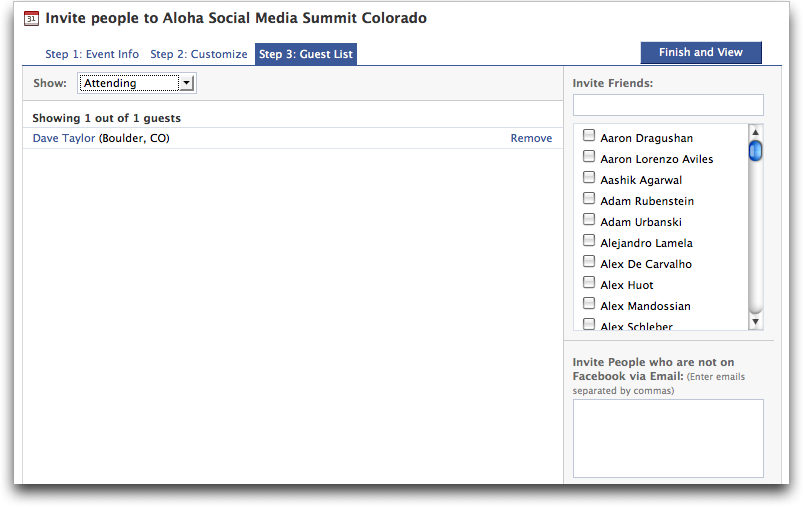 How to create a facebook Groups and Event pages