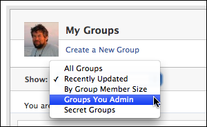 how to delete a facebook group you admin