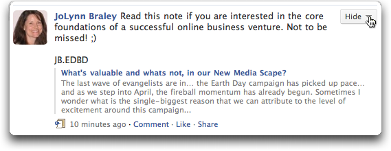 facebook status update 2