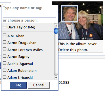 How do I identify individuals in a photograph on Facebook ...