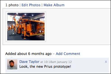 facebook your photos comments