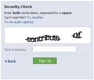 Traditional CAPTCHA