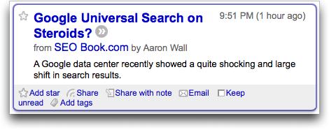 google reader reading