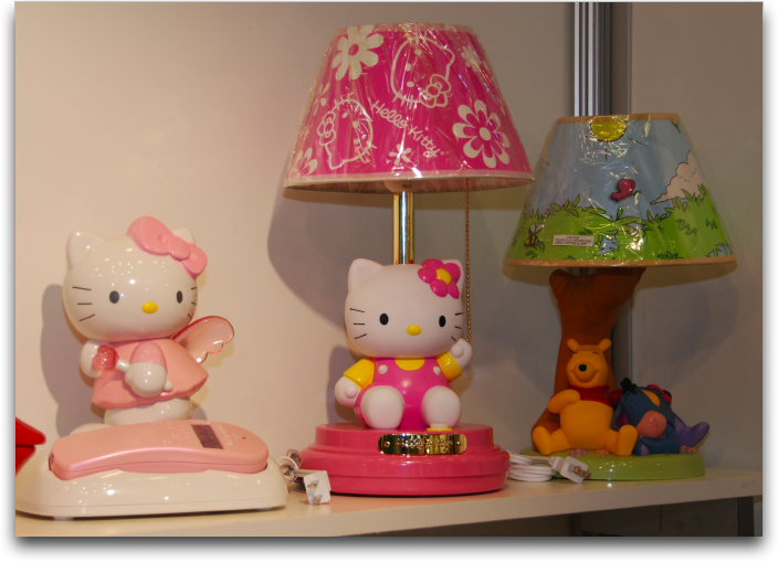 hello kitty lamp phone