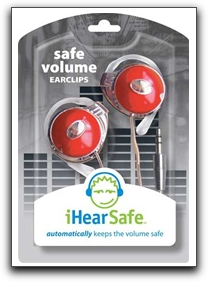 ihearsafe safe volume earclips