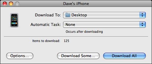 image capture iphone