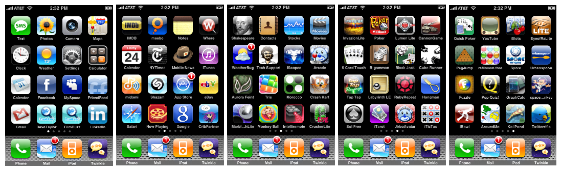iphone apps galore