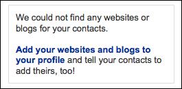 linkedin add bloglink urls