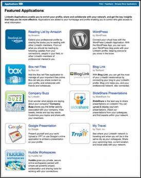 linkedin application directory
